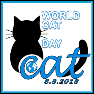 World cat day or International cat day Aug 8